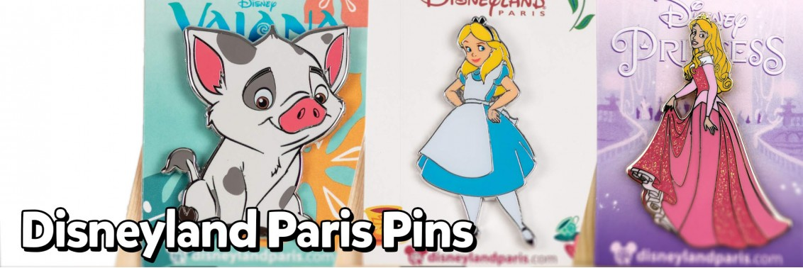 Disneyland Paris Pins