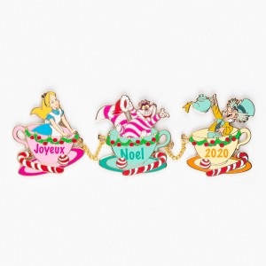 Alice In Wonderland Joyeux Noel 2020 Disneyland Paris Limited Edition