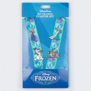 Disney Parks Frozen Lanyard Starter Set